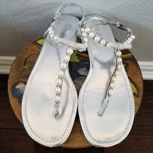 Shoes - Pearly String Sandals